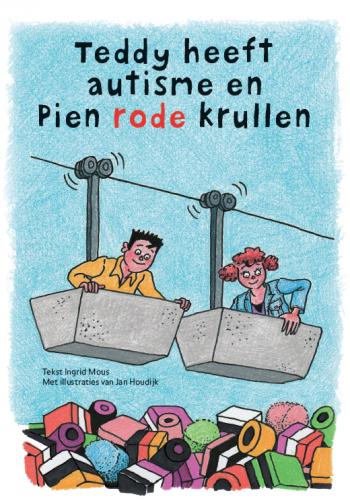 Teddy heeft autisme en Pien rode krullen is een boek over autisme