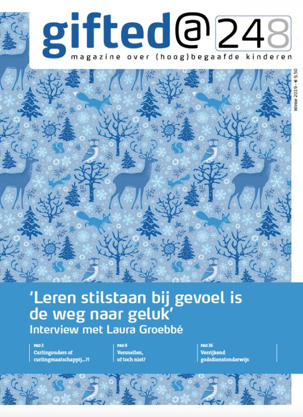 Gifted@248 - winter 2019/2020 Het tijdschrift over hoogbegaafde kinderen